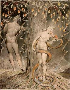 William Blake 'The Temptation and the Fall of Eve'