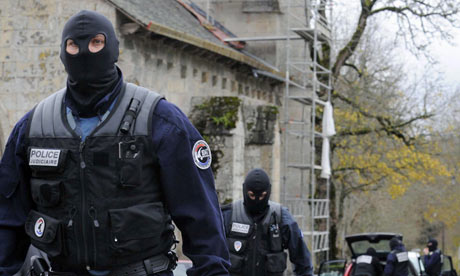 Police swoop on the village of Tarnac, France, to arrest the alleged authors of The Coming Insurrection.