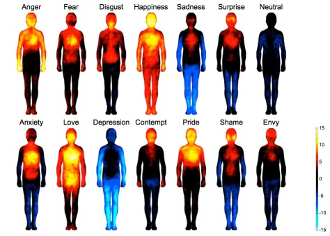 Maps of bodily emotions